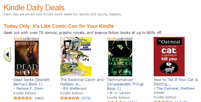 ComiCon For Your Kindle