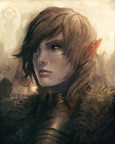 Warrior Elf Blooded